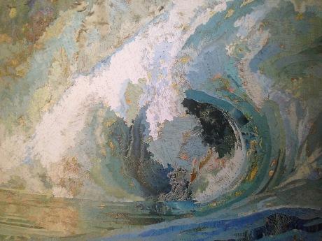 Matthew Cusick, Fiona's Wave