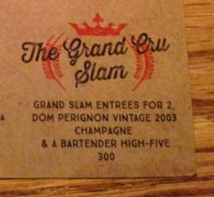The Denny's Grand Cru Slam